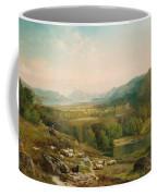 Minding The Flock Coffee Mug by Thomas Moran