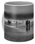 Misty Beach Coffee Mug by David Patterson