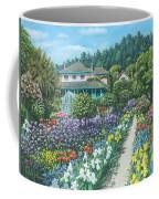 Monet's Garden Giverny Coffee Mug by Richard Harpum
