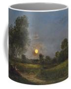 Moonrise Coffee Mug by Charles Francois Daubigny