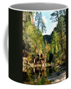 Morning At Oak Creek Arizona Coffee Mug by Kurt Van Wagner