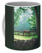 Morning Pasture Coffee Mug by Jack Skinner