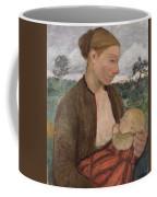 Mother And Child Coffee Mug by Paula Modersohn Becker