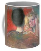 Mother Combing Sara's Hair  Coffee Mug by Mary Stevenson Cassatt