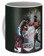 Muhammad Ali And Joe Frazier Coffee Mug by Ylli Haruni