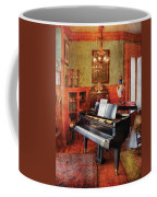 Music - Piano - It's A Long Long Way To Tipperary Coffee Mug by Mike Savad