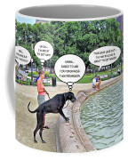 My Dog Tiny Coffee Mug by Brian Wallace