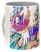 Narcotics Of The Mind Coffee Mug by Rachel Christine Nowicki