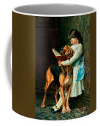 Naughty Boy Or Compulsory Education Coffee Mug by Briton Riviere