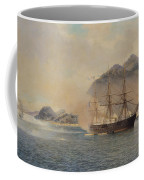 Naval Battle Of The Strait Of Shimonoseki Coffee Mug by Jean Baptiste Henri Durand Brager
