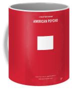 No005 My American Psyhco Minimal Movie Poster Coffee Mug by Chungkong Art