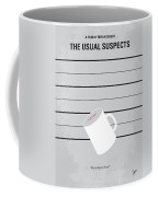No095 My The Usual Suspects Minimal Movie Poster Coffee Mug by Chungkong Art