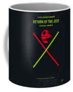 No156 My Star Wars Episode Vi Return Of The Jedi Minimal Movie Poster Coffee Mug by Chungkong Art