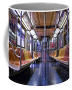 Nyc Subway Coffee Mug by Kelley King