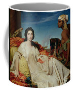 Odalisque Coffee Mug by Francois Leon Benouville