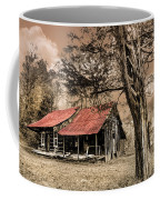 Old Mountain Cabin Coffee Mug by Debra and Dave Vanderlaan
