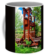 Old Wine Press Coffee Mug by Mariola Bitner