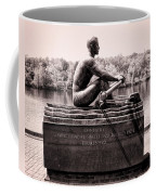 Olympic Champion - John B Kelly Coffee Mug by Bill Cannon
