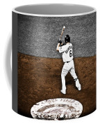 Omar Quintanilla Pro Baseball Player Coffee Mug by Marilyn Hunt