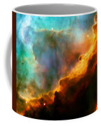 Omega Swan Nebula 3 Coffee Mug by Jennifer Rondinelli Reilly - Fine Art Photography