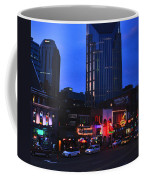 On Broadway In Nashville Coffee Mug by Susanne Van Hulst