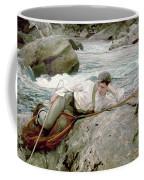 On His Holidays Coffee Mug by John Singer Sargent