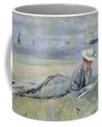 On The Beach  Coffee Mug by Paul Cesar Helleu