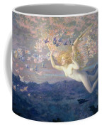 On The Wings Of The Morning Coffee Mug by Edward Robert Hughes