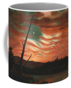Our Banner In The Sky Coffee Mug by Frederic Edwin Church