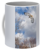 Out Of The Blue Coffee Mug by Bill Wakeley
