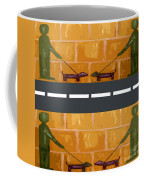 Out On The Street Coffee Mug by Patrick J Murphy