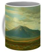 Outside Of Taos Coffee Mug by Phyllis Tarlow