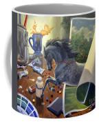Over The Edge Coffee Mug by Jeanne Newton Schoborg
