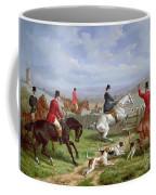 Over The Fence Coffee Mug by Edward Benjamin Herberte