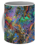 Paint Number 28 Coffee Mug by James W Johnson