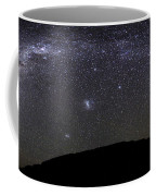 Panoramic View Of The Milky Way Coffee Mug by Luis Argerich