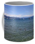 Parade Of Geese Coffee Mug by Carol Groenen