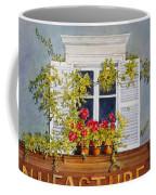 Parisian Window Coffee Mug by Mary Ellen Mueller Legault