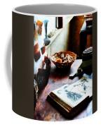 Pattern Book Coffee Mug by Susan Savad