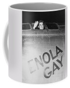 Paul Tibbets In The Enola Gay Coffee Mug by War Is Hell Store