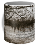 Peace I Leave With You Coffee Mug by Carolyn Marshall