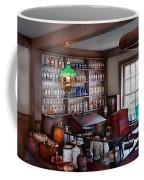 Pharmacist - Pharmacist From The 1880's  Coffee Mug by Mike Savad