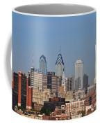 Philadelphia Standing Tall Coffee Mug by Simon Wolter