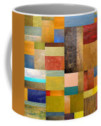Pieces Project Lll Coffee Mug by Michelle Calkins