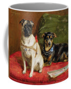 Pierette And Mifs Coffee Mug by Charles van den Eycken