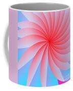 Pink Passion Flower Coffee Mug by Michael Skinner