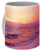 Pink Sunrise Coffee Mug by Kristin Elmquist