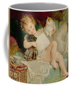 Playmates Coffee Mug by Emile Munier