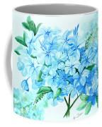 Plumbago Coffee Mug by Karin  Dawn Kelshall- Best