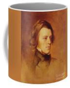 Portrait Of Alfred Lord Tennyson Coffee Mug by Samuel Laurence